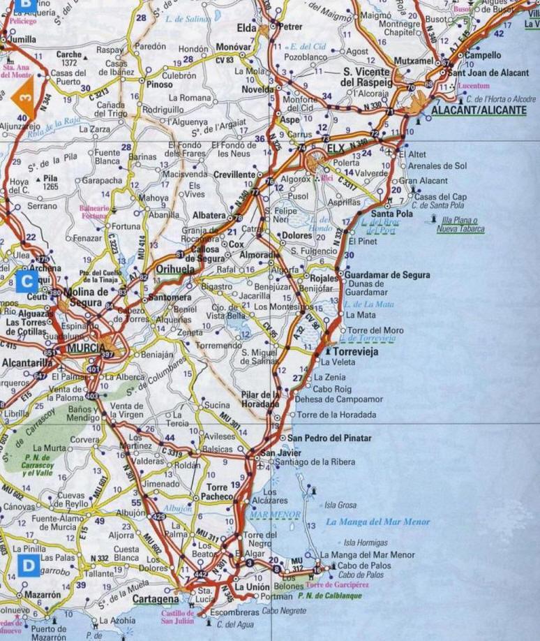 Maps for La Mata